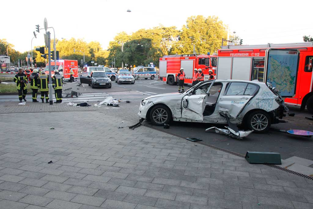 Autounfall Aachen